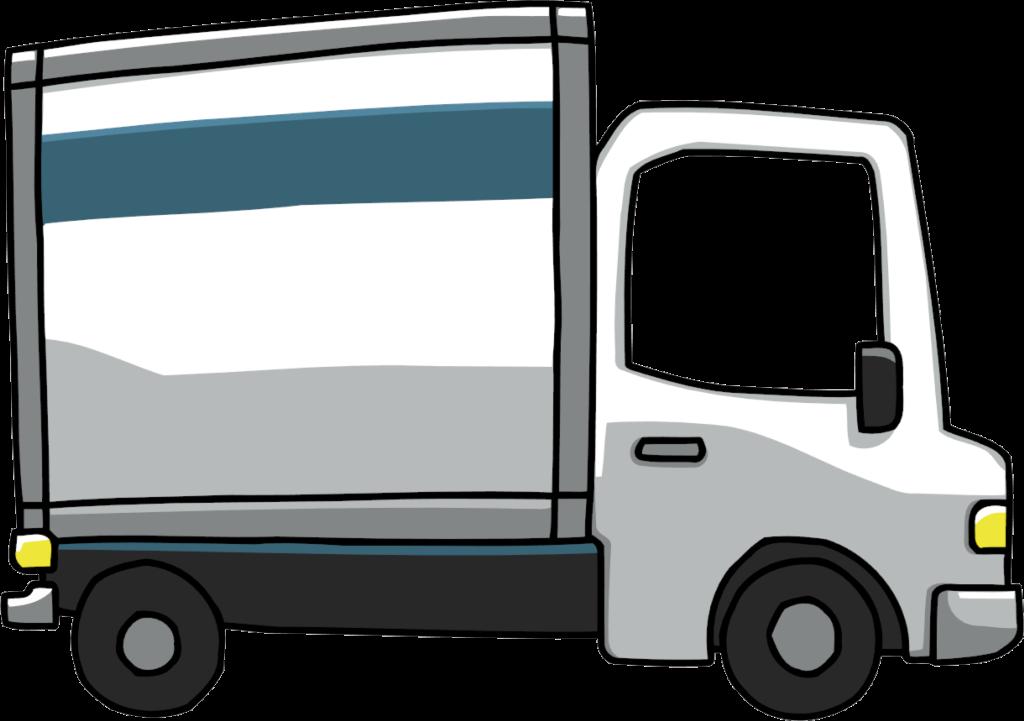 1024x721 Trash Truck Clipart