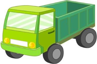 340x226 Truck Clipart Green Truck