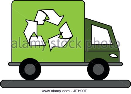447x320 Trash Truck Icon. Ecology Save Environmental And Care Theme