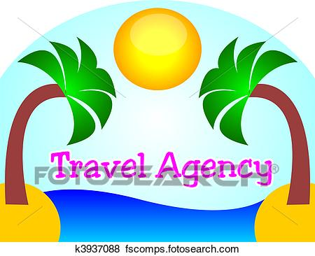 450x366 Stock Illustration Of Travel Agency Logo K3937088