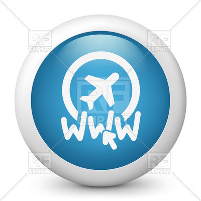 400x400 Website Of Travel Agency Icon