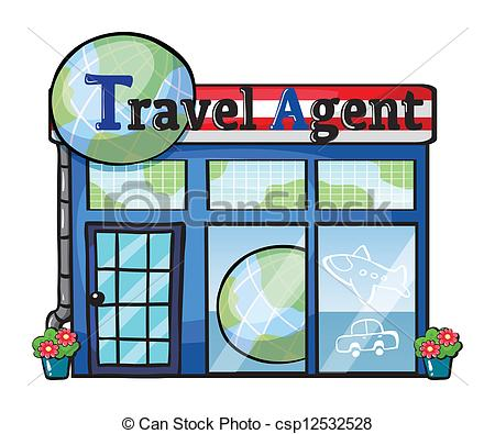450x395 A Travel Agent Office Clip Art Clipart Panda