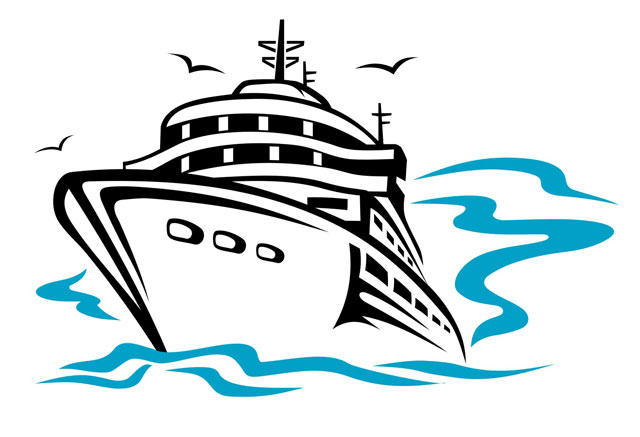 640x437 Cruise Ship Clip Art Free