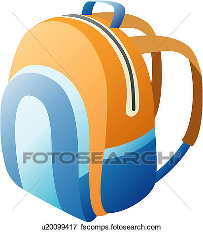 412x470 Clip Art Of Logo, Bag, Travel, Backpack, Traveling, Icon U20099417