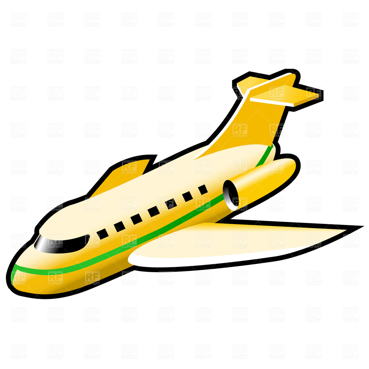 1200x1200 Airplane Icon Royalty Free Vector Clip Art Image