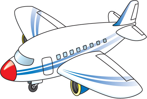 517x346 Clip Art Airplanes