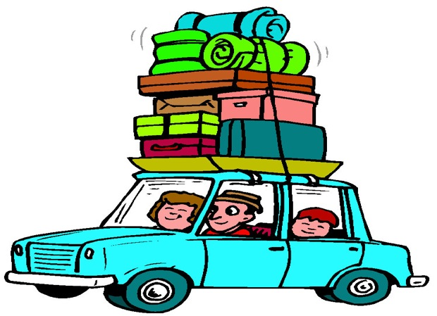 620x449 Free Car Travel Clipart Image
