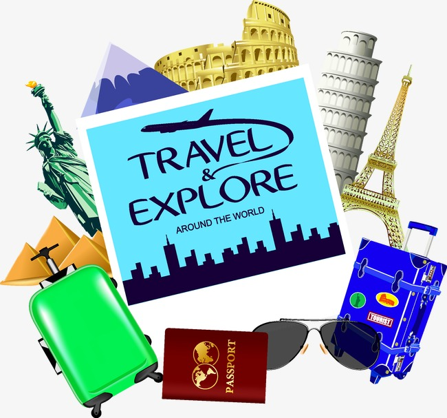 650x607 Travel Travel, Tourism, Travel, Visa Png And Vector For Free Download