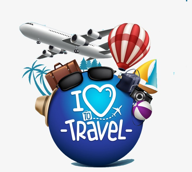 650x583 Travel Element, Travel, Tourism, I Love To Travel Png Image
