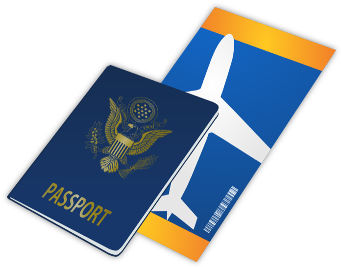 700x549 Free Airplane Travel Clipart Image