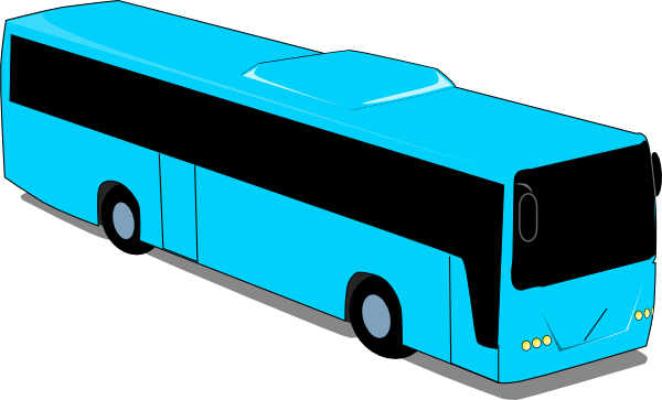 600x363 Free Bus Clipart Image
