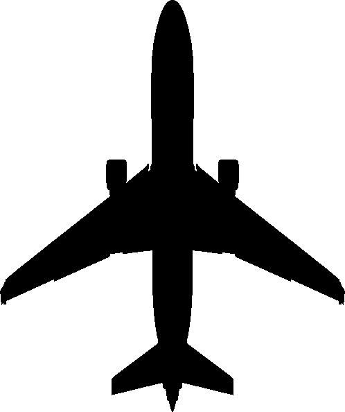 498x594 Boeing Plane Silhouette Clip Art
