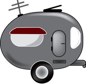 300x293 Camper Clipart Image
