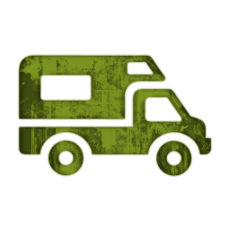 256x256 Green Grunge Clipart Icons Transport Travel Icons Etc
