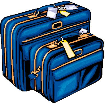 Travel Suitcase Clipart