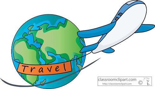 500x287 Flight Clipart World Travel