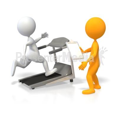 400x400 Training Runner On Treadmill