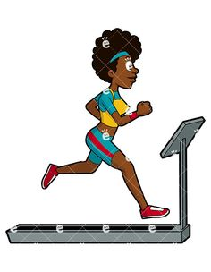 236x304 A Woman Running On A Treadmill