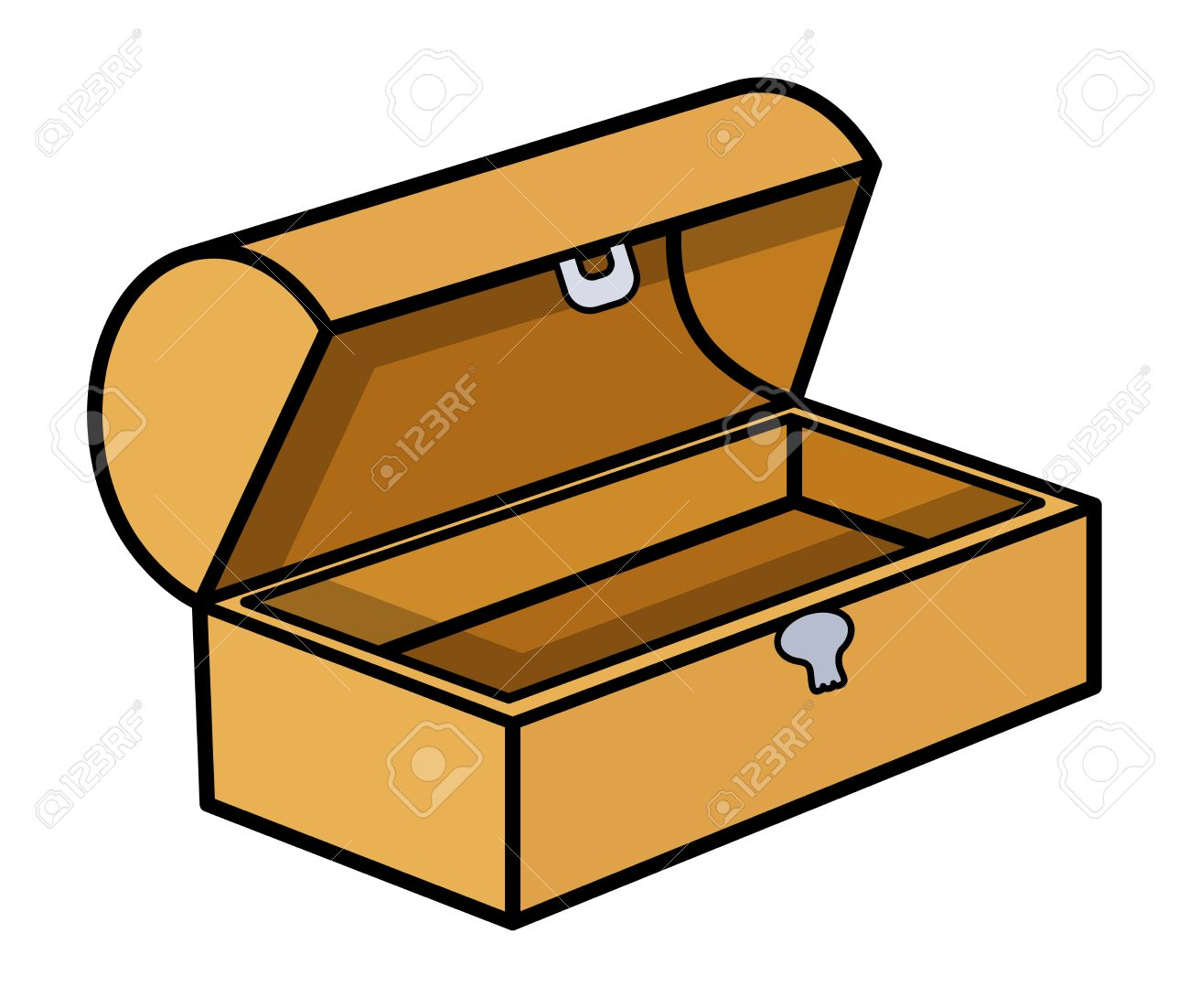 1300x1102 Chest Clipart Cartoon