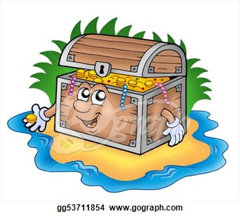 350x315 Chest Clipart Treasure Island