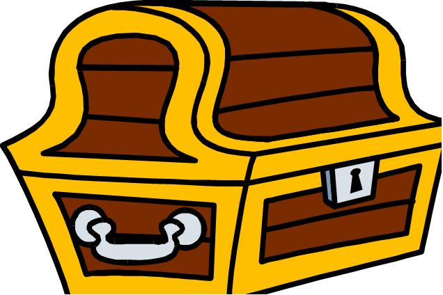 636x424 Clip Art Treasure Chest Clipart Panda