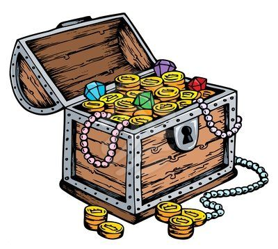 400x358 Fancy Treasure Chest Clipart Treasure Box Clip Art Cliparts