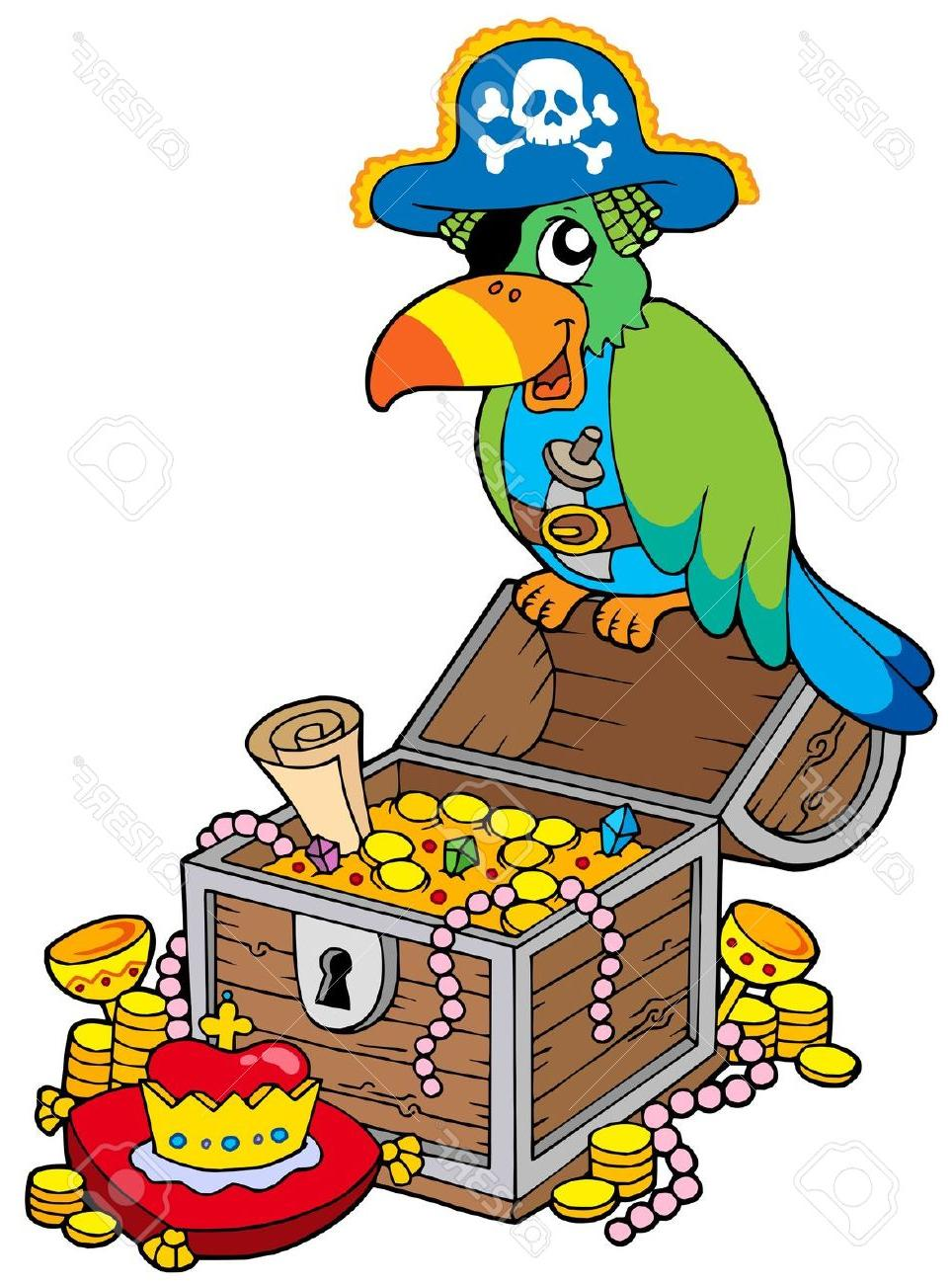 964x1300 Hd Chest Clipart Pirate Treasure Images