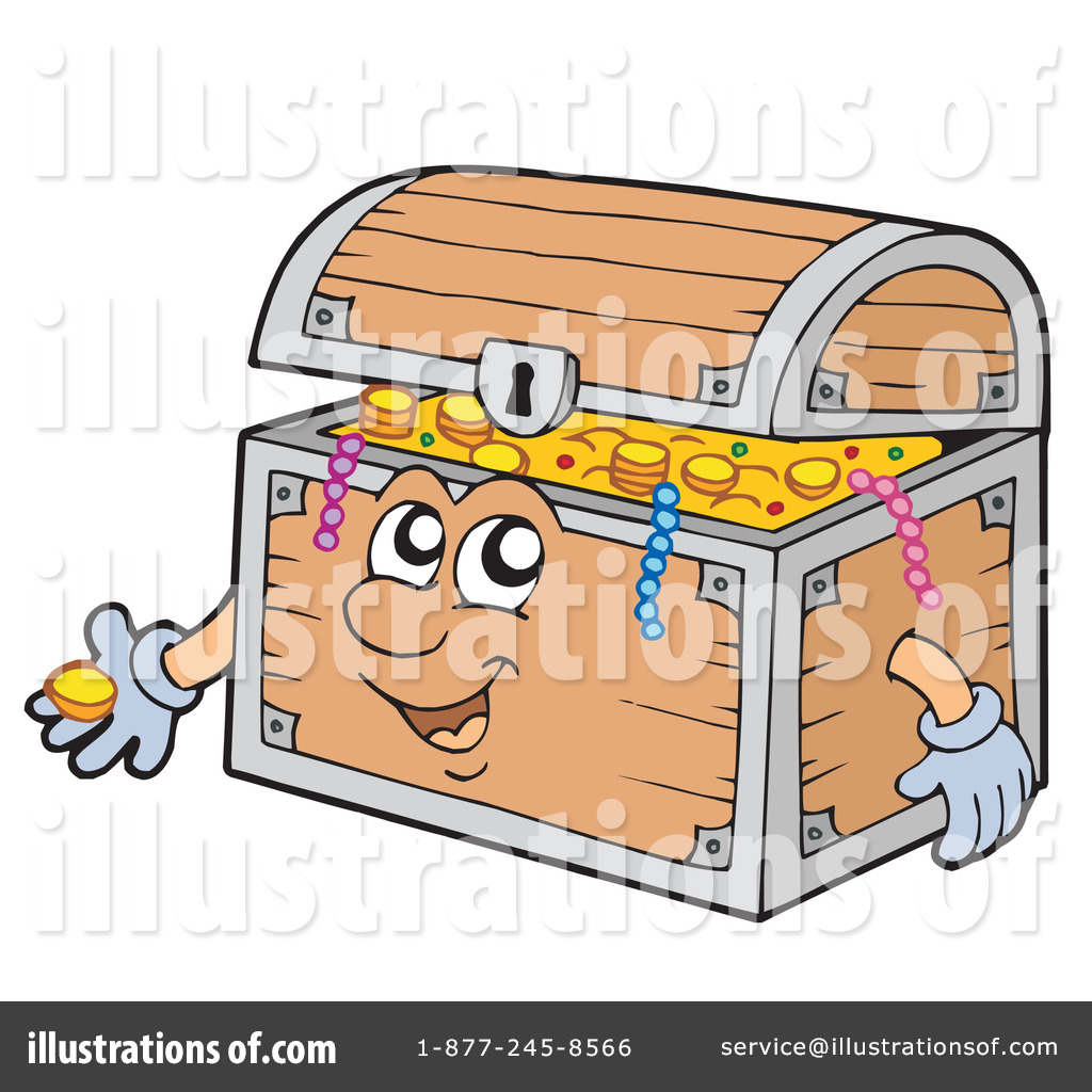 1024x1024 Treasure Chest Clipart