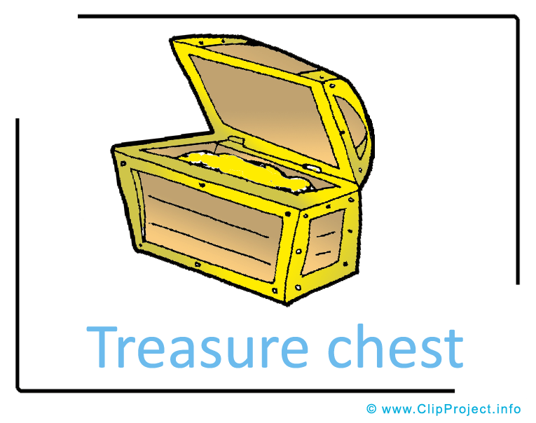 765x604 Treasure Chest Clipart Image Free