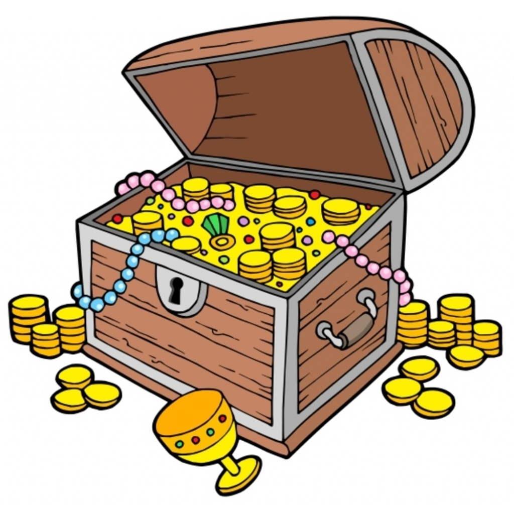 1024x1006 Treasure Chest Clipart Vector Treasures Chest Vector Clip Art