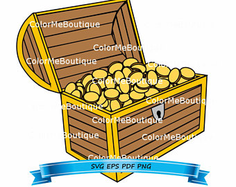 340x270 Treasure Chest Svg Etsy
