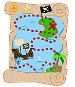 146x170 Hidden Treasure Clip Art