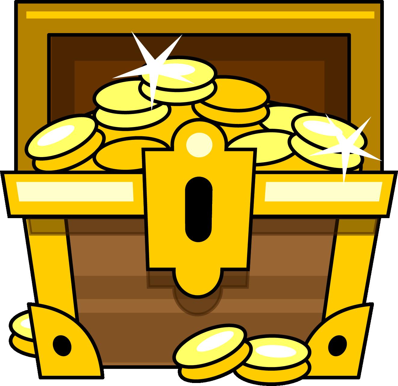 1321x1283 Simple Clipart Treasure Chest