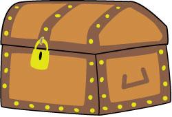 250x170 Treasure Box Clip Art