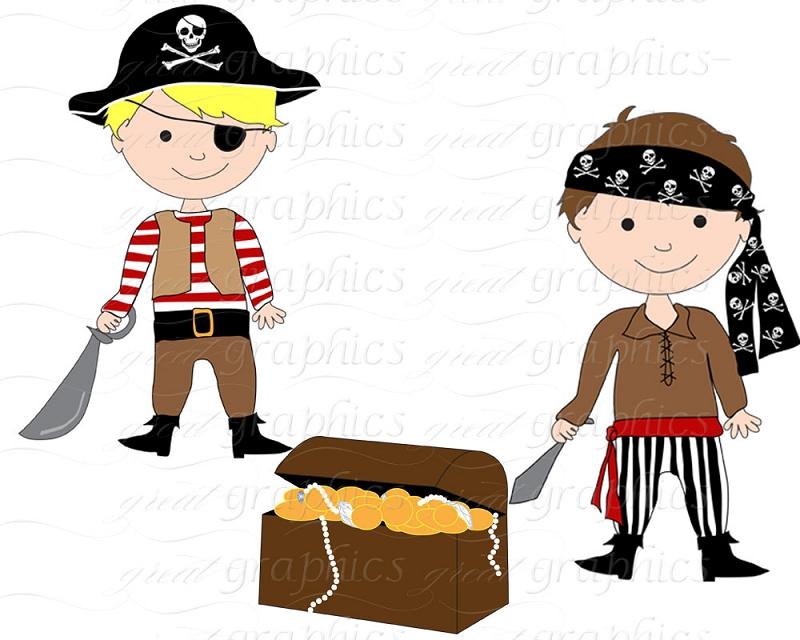 800x640 Treasure Pirates Clipart