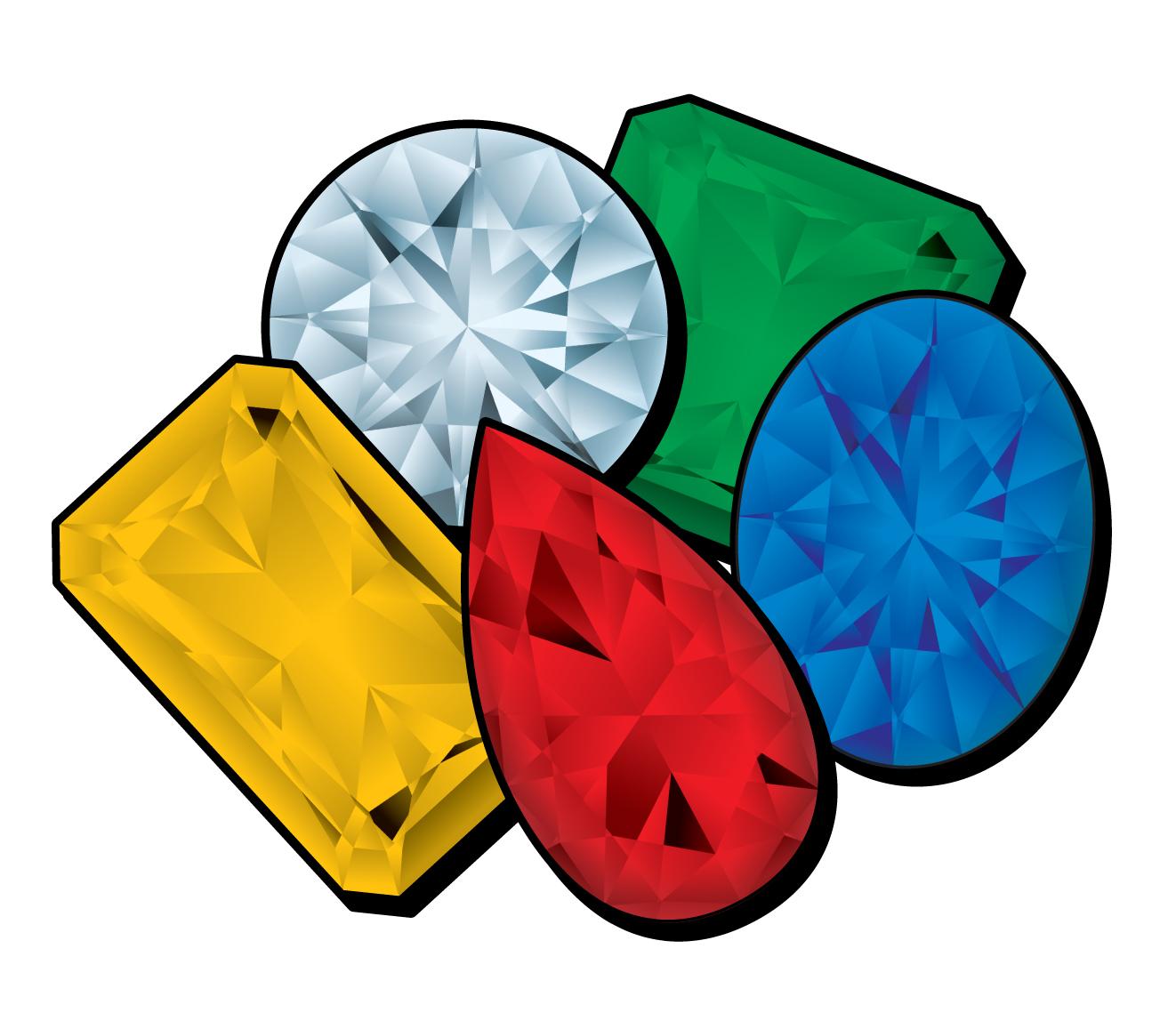 1322x1139 Jewels Clipart