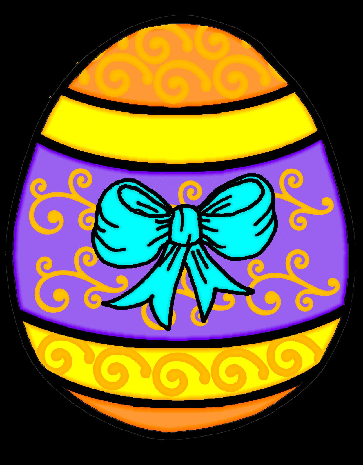 1252x1600 Easter Egg Clip Art