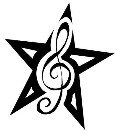 399x461 Best Treble Clef Heart Ideas Music Heart Tattoo