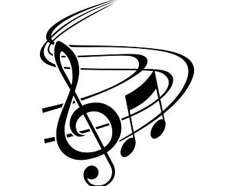 340x270 Music Notes Clipart G Clef Notes