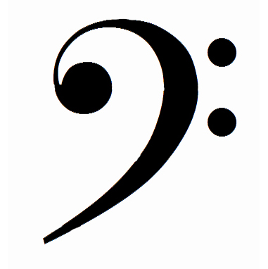381x382 Music Notes Clipart Treble Clef