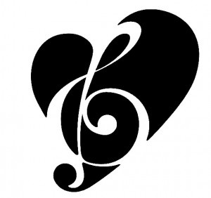 300x282 52 Best Treble Clef Images Music, Drawing Ideas