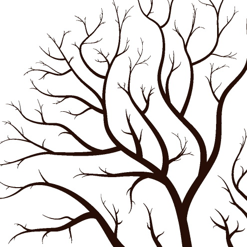 495x495 Image of Branches Clipart