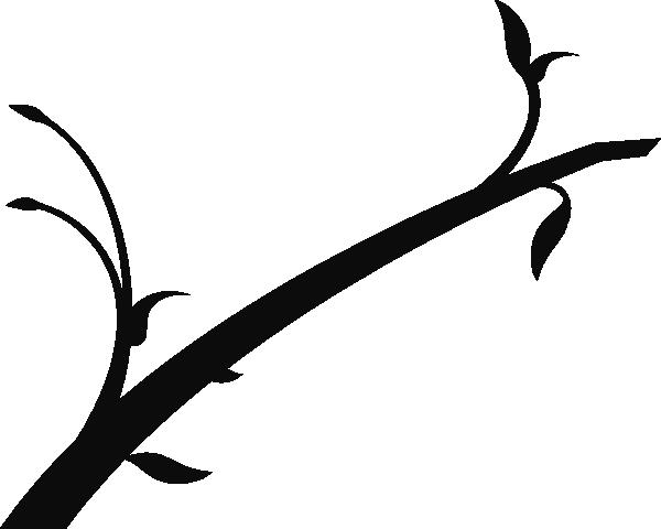 600x480 Spring Branch Clip Art