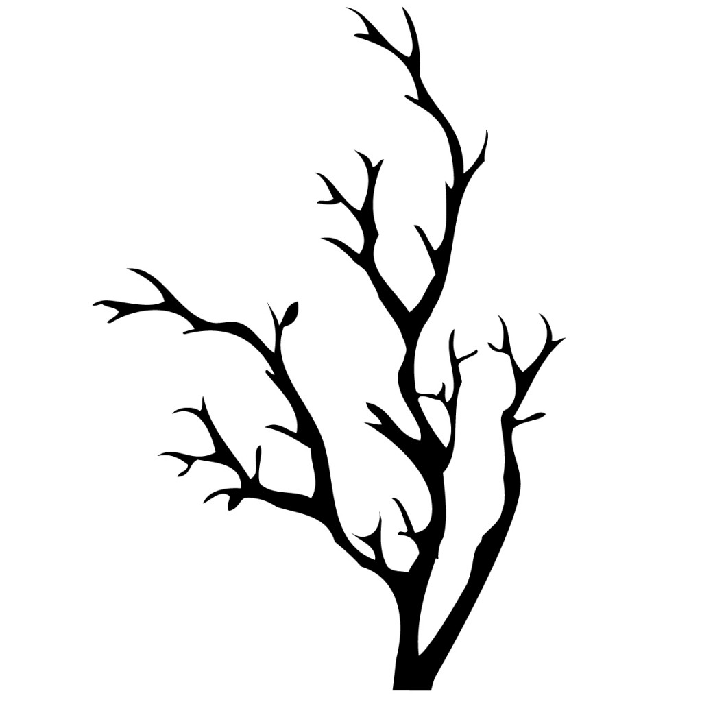 1024x1024 leaves tree clipart