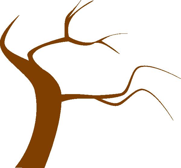 600x557 Brown Tree Clip Art