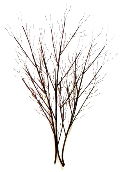 499x708 Metal Wall Art Trees And Branches Rustic Tree