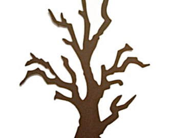 340x270 Tree With Branch Clipart