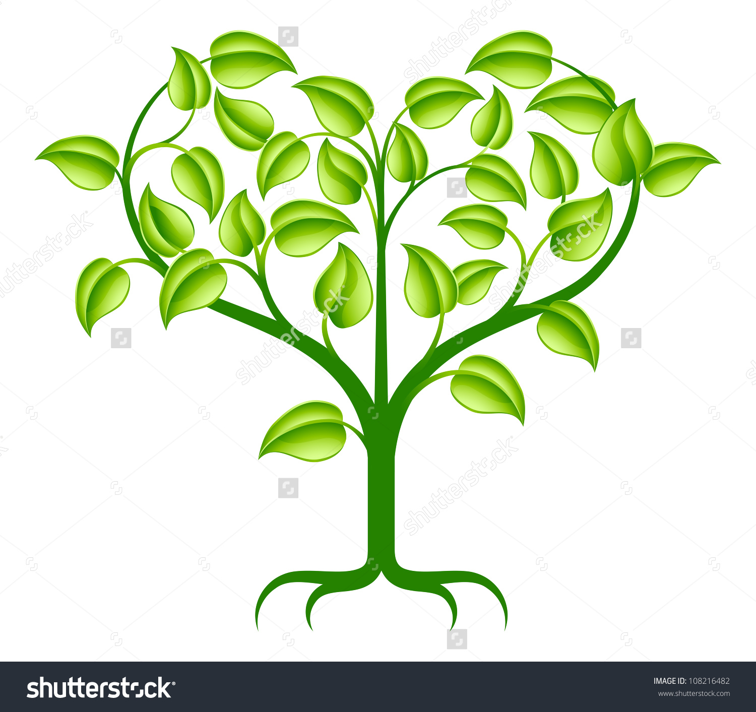 1500x1413 shaped tree branches clipart