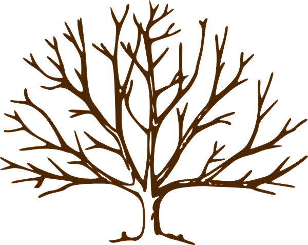 600x477 Bare Tree Clip Art