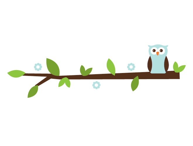 660x500 Branch Clipart Cute